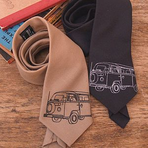 Wool Campervan Tie - men's accessories
