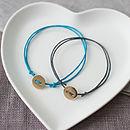 Button Friendship Bracelet