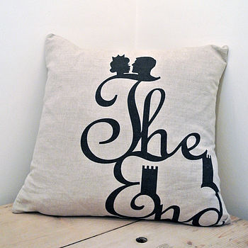 'The End' Cushion