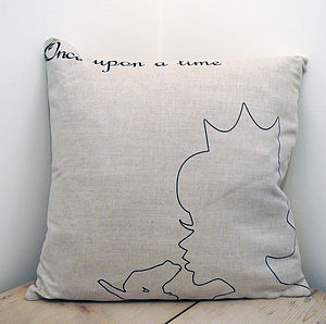 'Kiss A Frog' Cushion - cushions