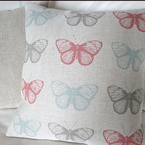 Colourful Butterflies Cushion - cushions