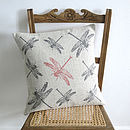 Dragonflies Cushion
