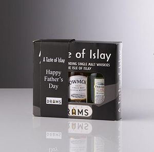 Personalised Whisky Tasting Set - food gifts