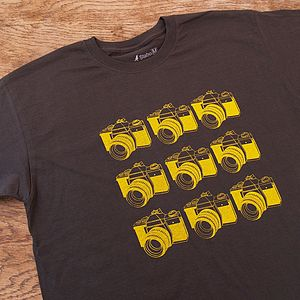 SLR Cameras T Shirt - gifts for photographers
