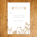 Enchanted Forest Natural RSVP