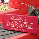 Engraved Wooden Sign For Dad