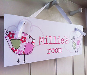 Girl's Room Sign