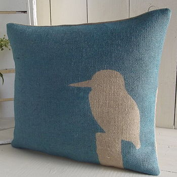 ' Kingfisher ' Cushion