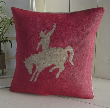 Rodeo Cowboy Cushion