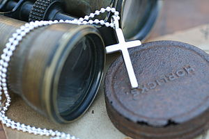 Personalised Love And Protect Cross Mens Chain - necklaces