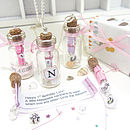 Message In A Bottle Baby And Girl Keepsake Necklace