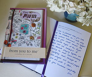 'Dear Mum' Journal Of A Lifetime - stocking fillers under £15