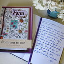 'Dear Mum' Journal
