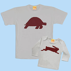 Tortoise And Hare T Shirt Set - for fathers