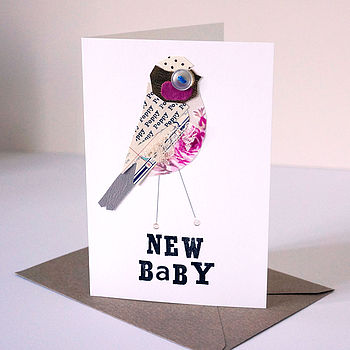 Personalised 'New Baby' Or 'Christening' Card