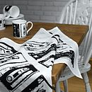 Thumb retro style cassette tea towel