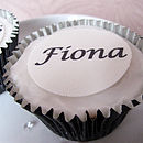 Edible Wedding Favour Toppers