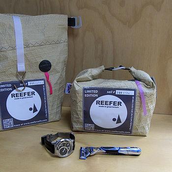 Recycled Kevlar Racing Sail Wash Bag