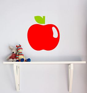 Apple Wall Sticker