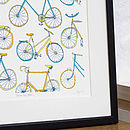 Take The Bike Screen Print