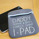 Personalised Case For iPad
