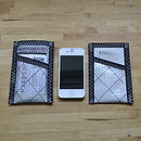 Reefer white sailcloth iPhone slipcase