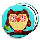 Brown Owl Compact Mirror
