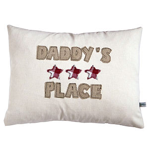 Personalised Stars Cushion - baby & child