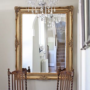 Traditional Classic Mirror Gold - mirrors