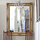 Traditional Classic Mirror Gold