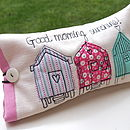 Beach Hut Sunglasses Case