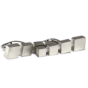 Attenuating Cube Cufflinks - for him
