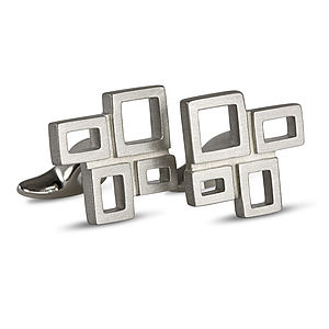 Modernist Cufflinks - for him