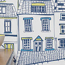 Coastal Cottages wallpaper close up