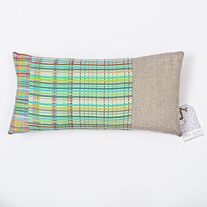 Rowhedge Stripe Woven Cushion Cover - cushions