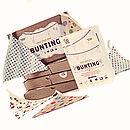 Make Your Own Bunting Kit