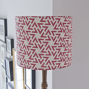Geometric Triangles Lampshade - lampshades