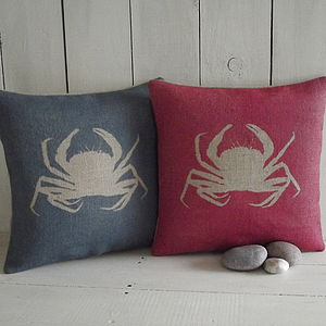 ' Crab ' Cushion - as seen in the press