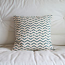 Geometric Chevron Cushion