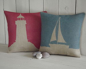 ' Lighthouse ' Cushion