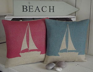 Boat Cushion - patterned cushions