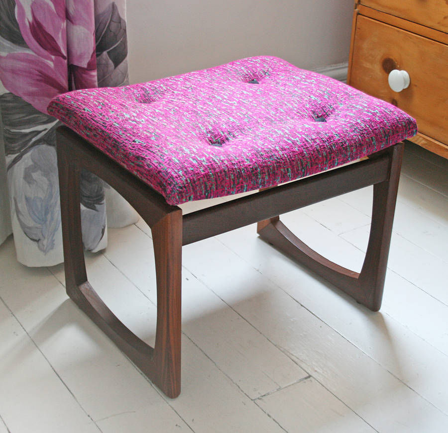 Footstool Plans Upholstered