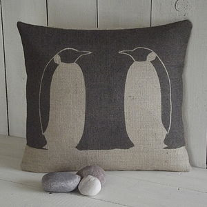 ' Penguin ' Cushion - patterned cushions