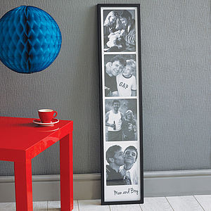 Personalised Giant Photo Booth Print - from the little ones