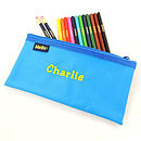 Personalised Pencilcase And Pencils Set
