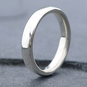 Handmade Comfort Fit Silver Ring - rings