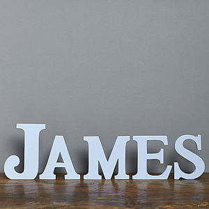 Personalised Ornate Letters - decorative accessories