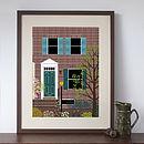 Personalised Digital House Portrait