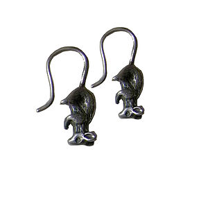 Mouse Hook Earrings