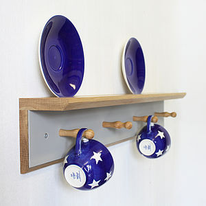 Teacup Rail - shelves